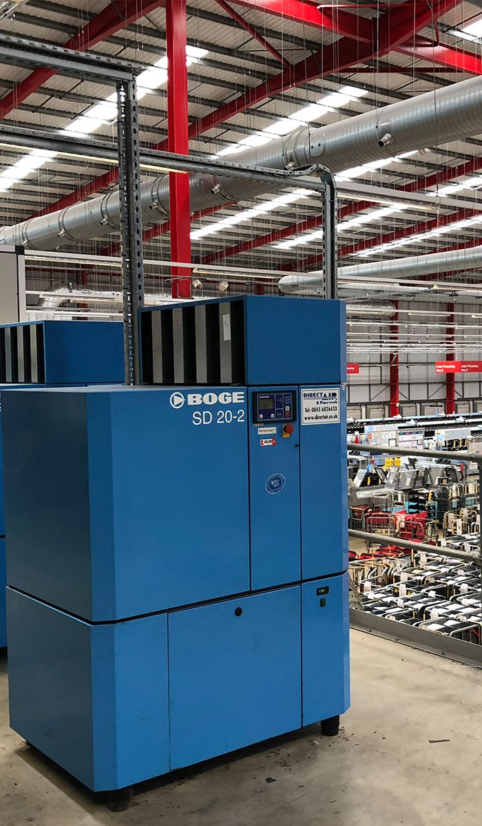 Nationwide Compressor Maintenance For Royal Mail