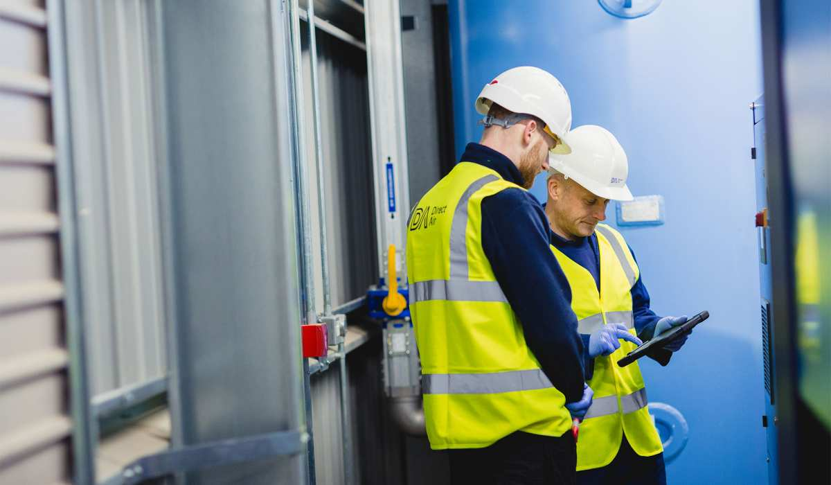 6 easy tips to maximise compressed air efficiency