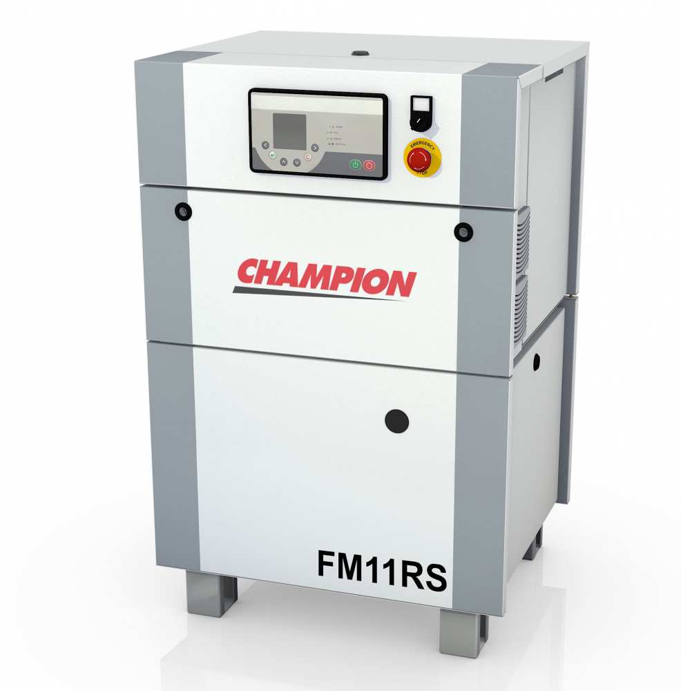 Midlands UK supplier and authorised distributor of the Champion FM11RS air compressor range