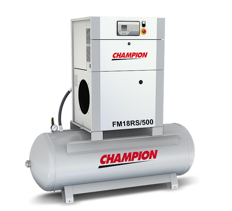 Midlands UK supplier of Champion FM18RS / 500 air compressor
