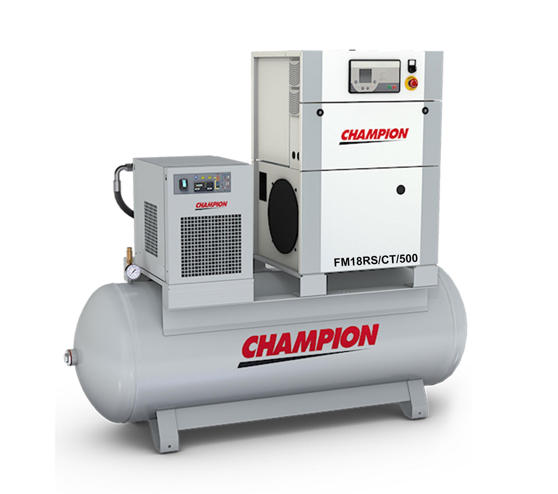 Midlands UK supplier of Champion FM18RS / CT / 500 air compressor