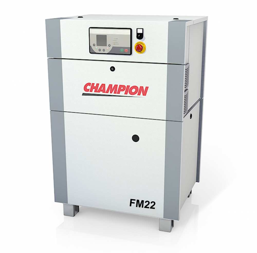 Midlands UK supplier and authorised distributor of the Champion FM22 air compressor range