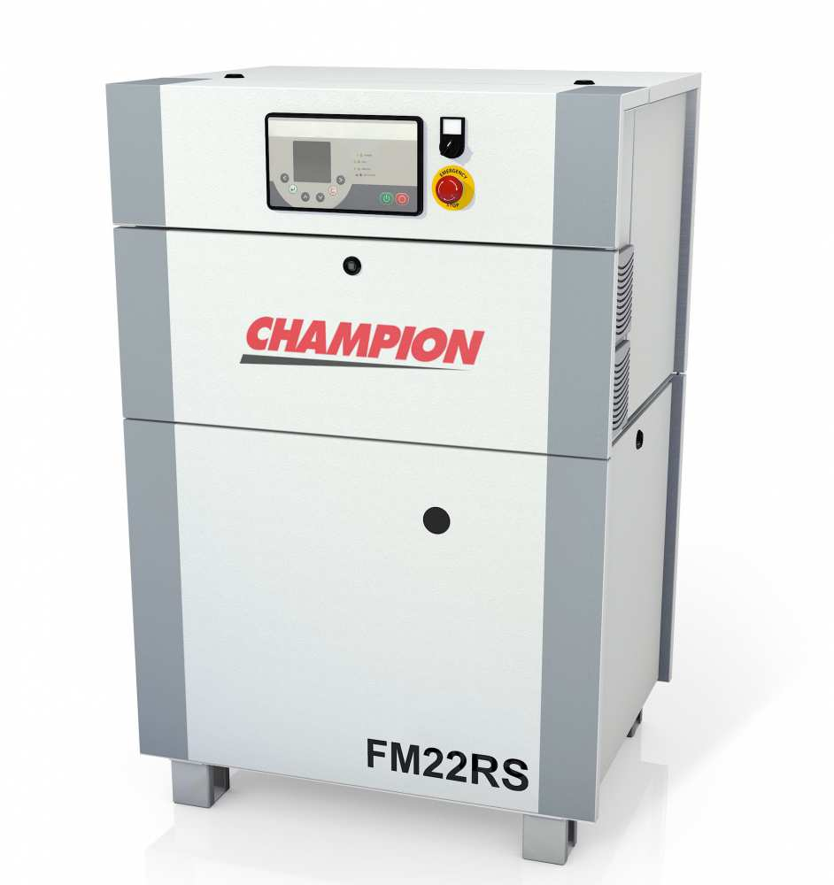 Midlands UK supplier and authorised distributor of the Champion FM22RS air compressor range