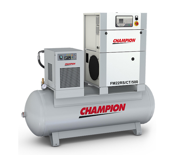 Midlands UK supplier of Champion FM22RS / CT / 500 air compressor