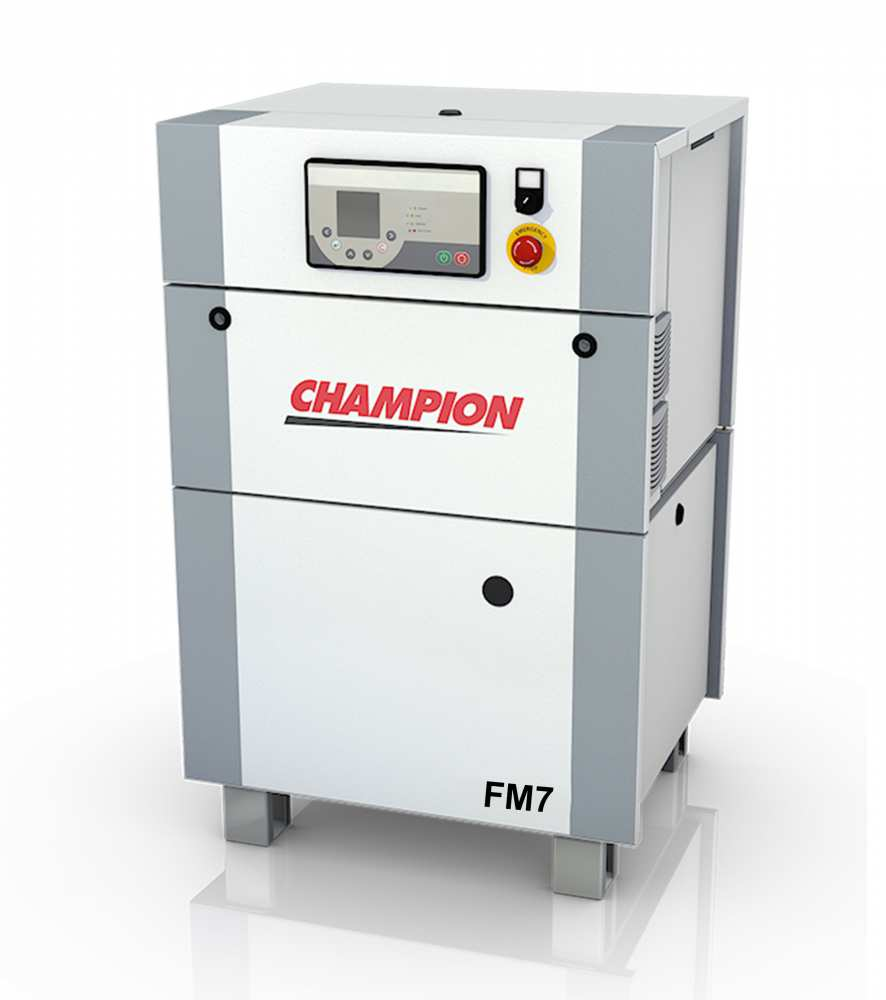 Midlands UK supplier and authorised distributor of the Champion FM7 air compressor range