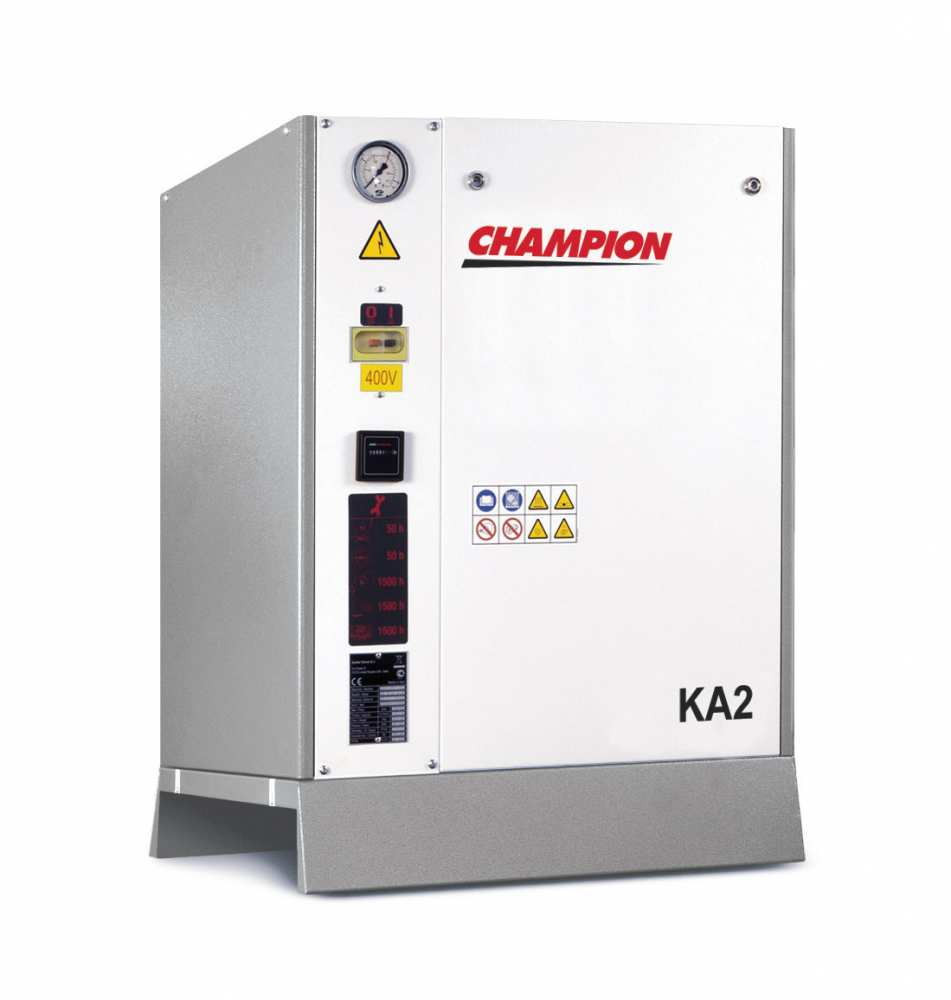 Midlands UK supplier and authorised distributor of the Champion KA 2 air compressor range