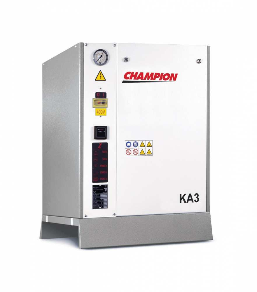 Midlands UK supplier and authorised distributor of the Champion KA 3 air compressor range