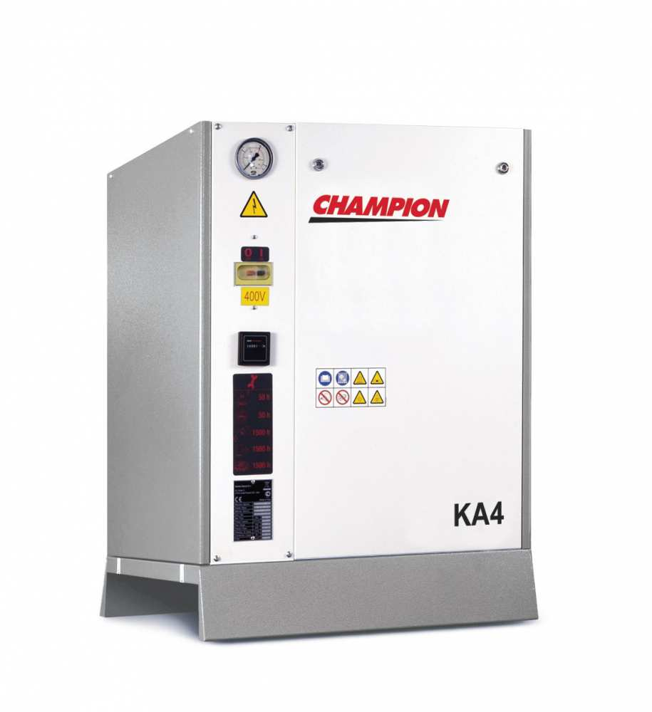 Midlands UK supplier and authorised distributor of the Champion KA 4 air compressor range